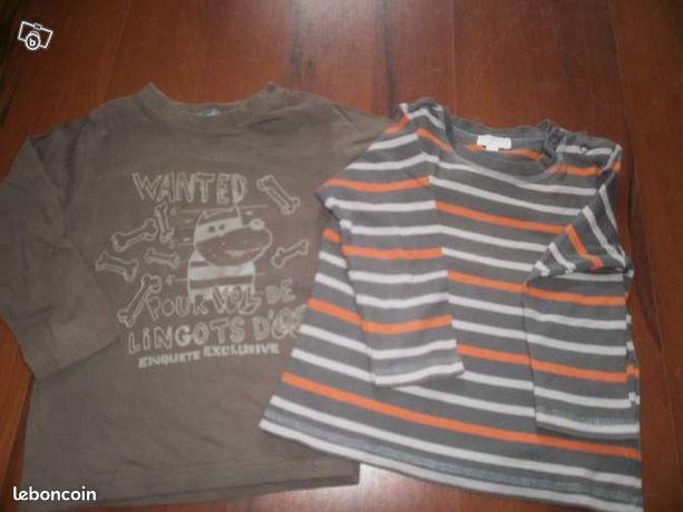 Tee shirt 3 ans manches longues (image 1)