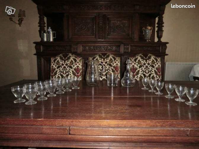Service carafe et 6 verres cristal annonces d 39 achats et de - Tapis de course domyos tc 450 prix neuf ...