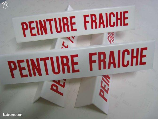 Pancartes chevalets attention peinture fraiche bricolage seine saint denis - Attention peinture fraiche ...