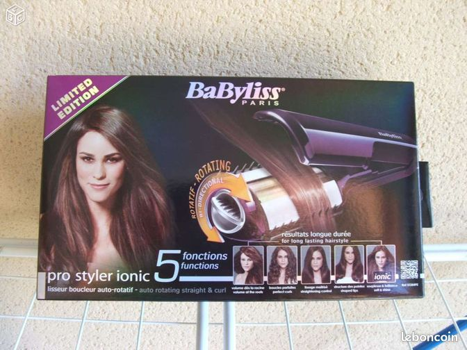 babyliss pro styler ionic boucleur lisseur 5 en 1 accessoires bagagerie tarn. Black Bedroom Furniture Sets. Home Design Ideas