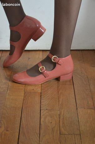 Chaussures vernies vintage