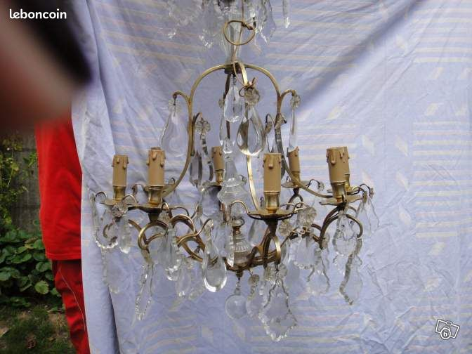 lustre bronze baccarat d coration seine et marne. Black Bedroom Furniture Sets. Home Design Ideas