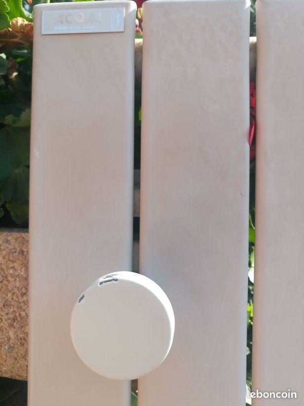 Radiateur électrique acova avec miroir et patères