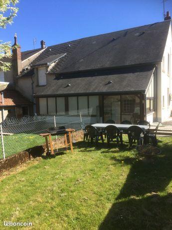 Maison de campagne meublée dans la Creuse