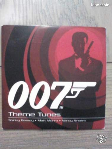 "007 "" theme tunes "" - Pluguffan - 007 "" THEME TUNES "" CD EN SUPER ETAT CD 10 TITRES TITRES: - THE JAMES BOND THEME - FROM RUSSIA WITH LOVE - YOU ONLY LIVE TWICE - ON HER MAJESTY'S SECRET SERVICE - DIAMONDS ARE FOREVER - NOBODY DOES IT BETTER - MOONRAKER - A VIEW TO A KILL - 00 - Pluguffan"