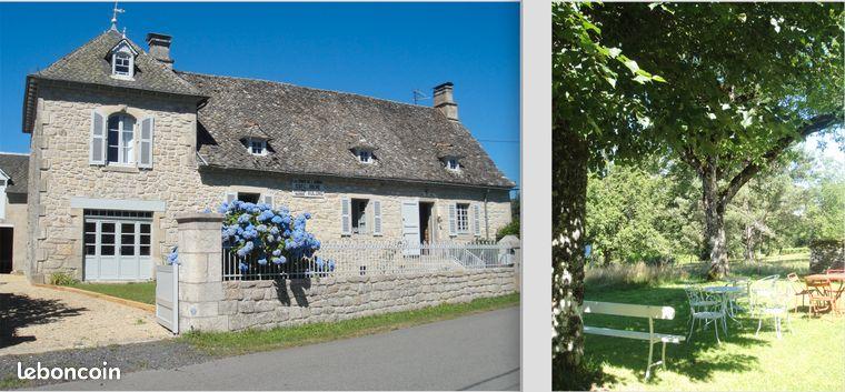 Maison de campagne à louer en Corrèze