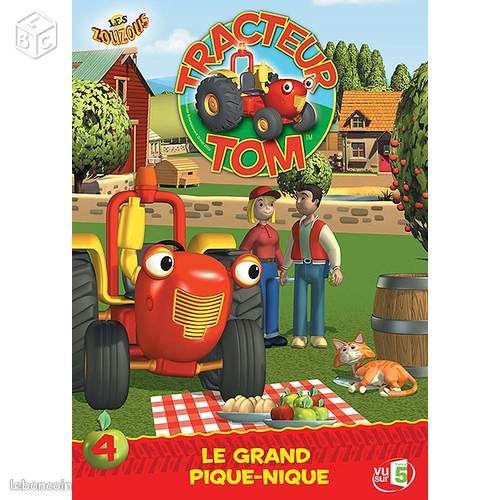 Tracteur tom saison 1 volume 4 le grand dvd dvd films marne - Le tracteur tom ...