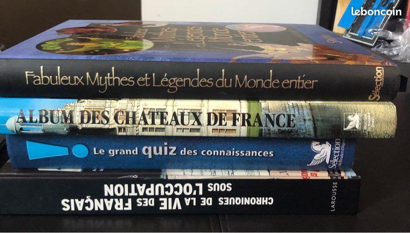Livres histoire encyclopédie