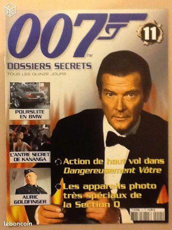 007 dossiers secrets n°11 - Combrit - 007 DOSSIERS SECRETS FASCICULE ÉTAT NEUF  - Combrit