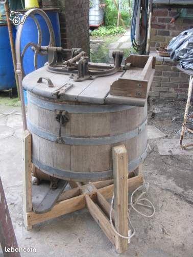 Machine laver en bois collection oise - Machine a laver le bon coin ...