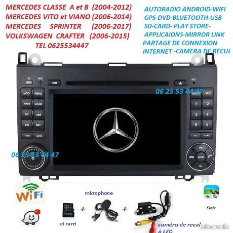 Autoradio Gps Dvd Android CAMERA MERCEDES SPRINTER-VITO-VIANO-A/B   VW CRAFTER