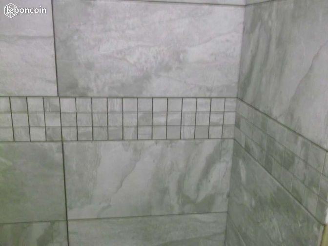 carrelage gctem grande norde gris + mosaique bricolage puydedôme