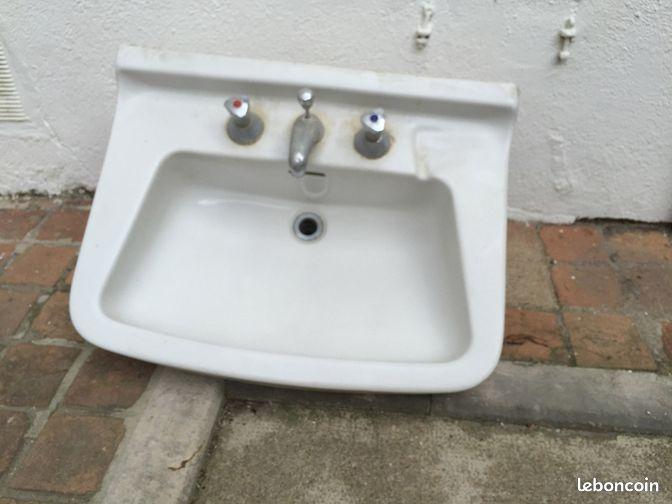lavabo annees annonces d 39 achats et de ventes trouver le meilleur prix. Black Bedroom Furniture Sets. Home Design Ideas