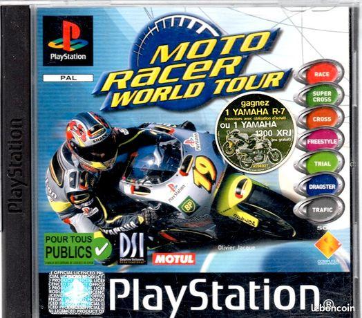 Jeu Playstation PS1 Moto racer world tour