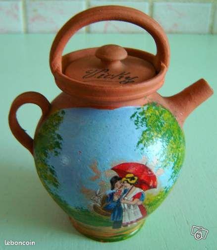 Petit pichet pot en terre cuite ancien d coration cher - Petit pot terre cuite ...