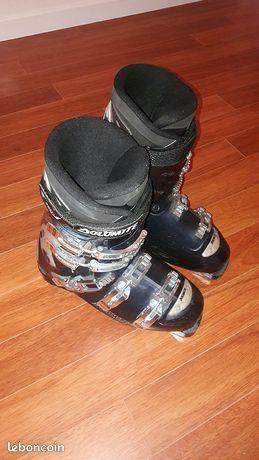 chaussure escrime adidas bleu en garde leboncoin