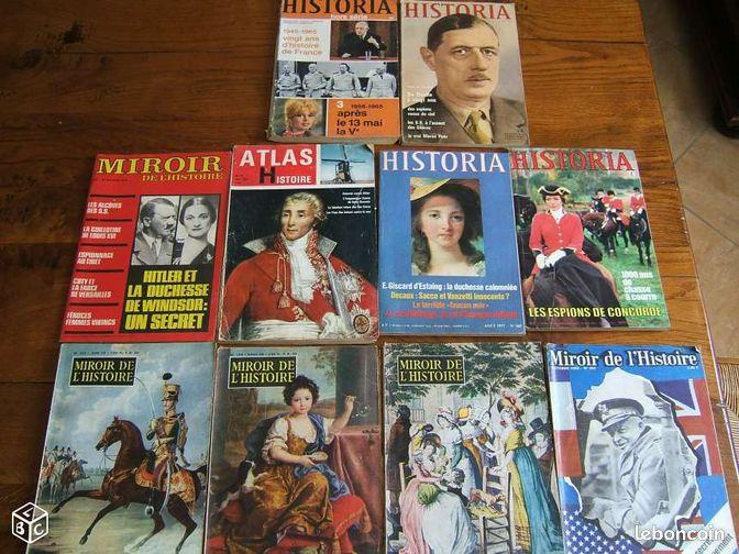 Anciens magazines historia miroir de l 39 histoire livres for Miroir de l histoire