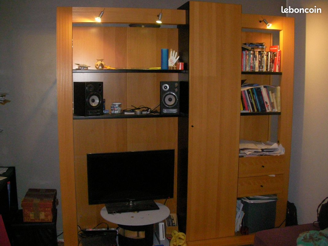 Meuble tv,biblio, bar