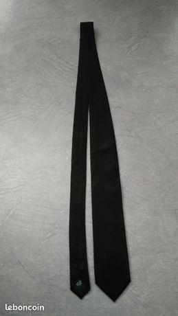 Cravate slim en soie, noire, neuve de Café Coton