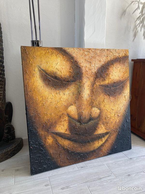 Tableau peinture bouddha