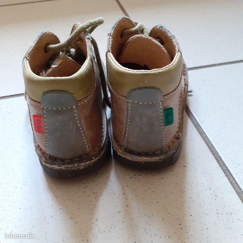 Chaussures kickers garçon t24