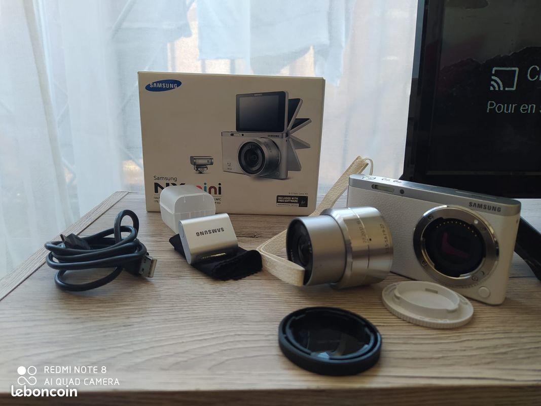 Appareil photo¦hybride¦samsung¦nxmini 9-27mm