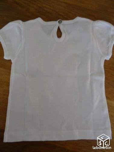 Tee shirt - 18 mois - petit bateau (scalvare)