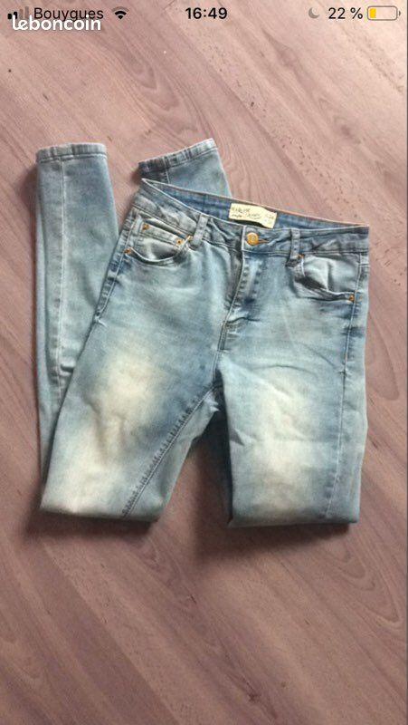 Pantalon jean skinny