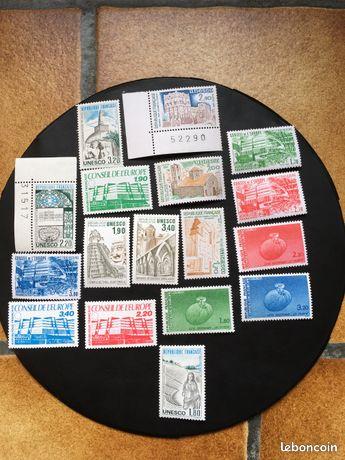 17 tibres de service neuf ++ - Gallardon - 17 timbres de service neuf sans trace de charnière N° 79-80-81-82-83-84-85-86-87-88-89-90-91-92-93-94-95- 8 euros et 50 cents frais de port compris  - Gallardon