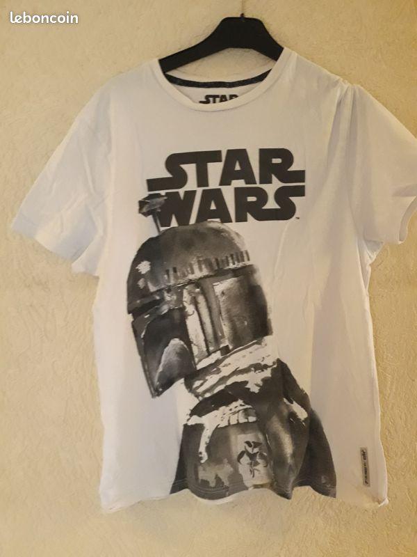 Star wars tee shirt occasion en bon etat