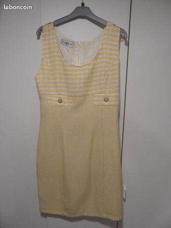 Robe jaune T 38