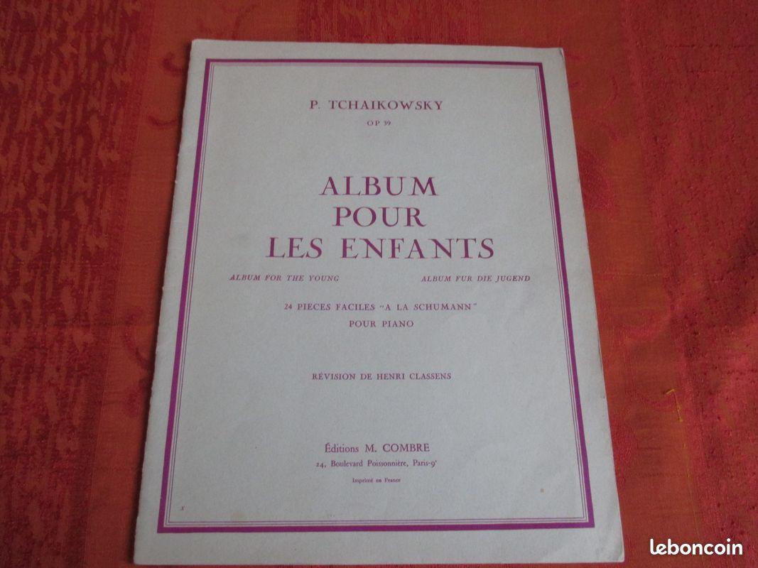 Partitions de piano - lot 4