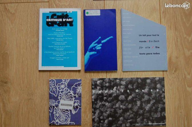 Catalogues d 39 exposition d 39 art contemporain livres seine et for Art contemporain livre
