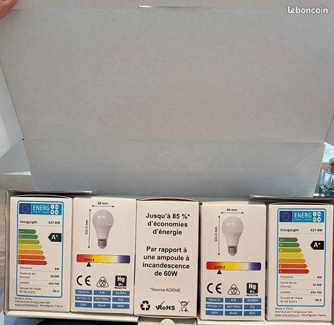 Boite de 5 ampoules LED écologique à vis