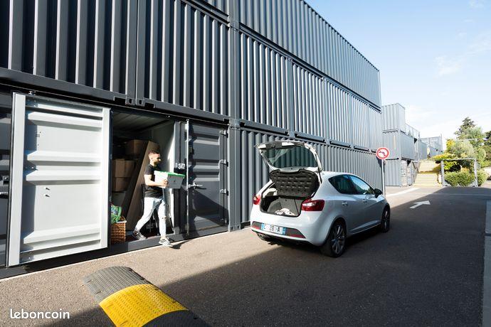 Location BOX STOCKAGE/GARDE MEUBLE Discount MONTPELLIER de 6m³ à 76m³
