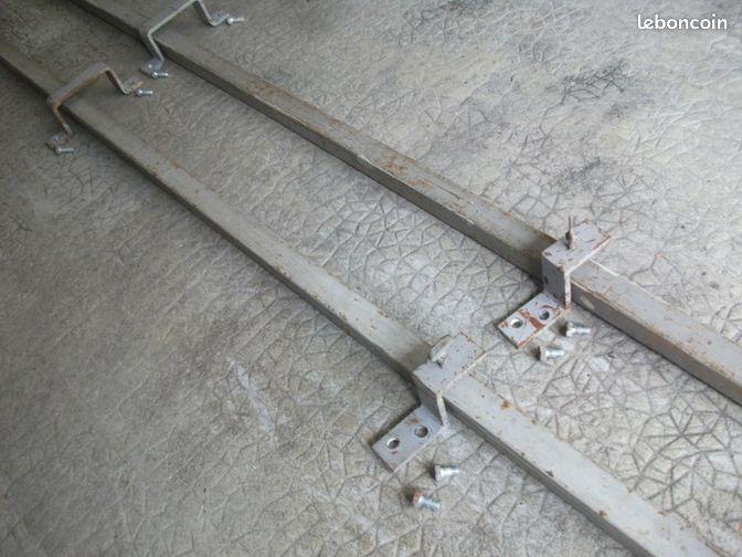 Barre de s curit renfort pour porte de garage bricolage - Barre de securite pour porte ...