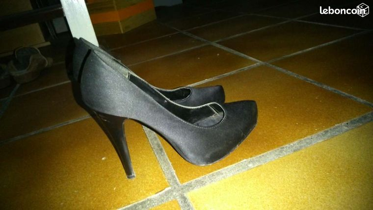 Chaussures noires new look femme 38 1/2