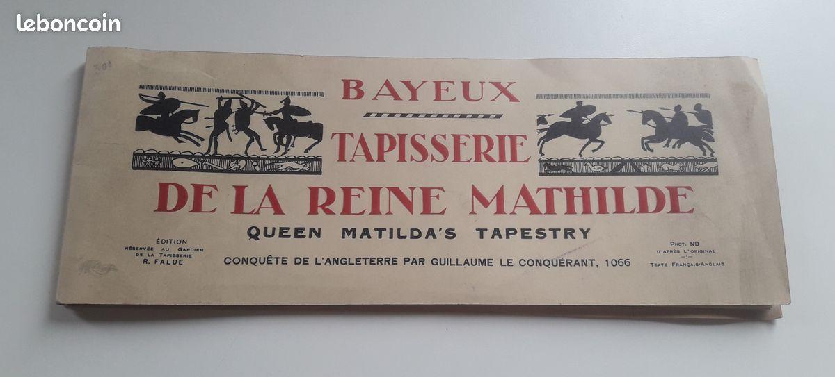 Tapisserie de la reine mathilde de bayeux