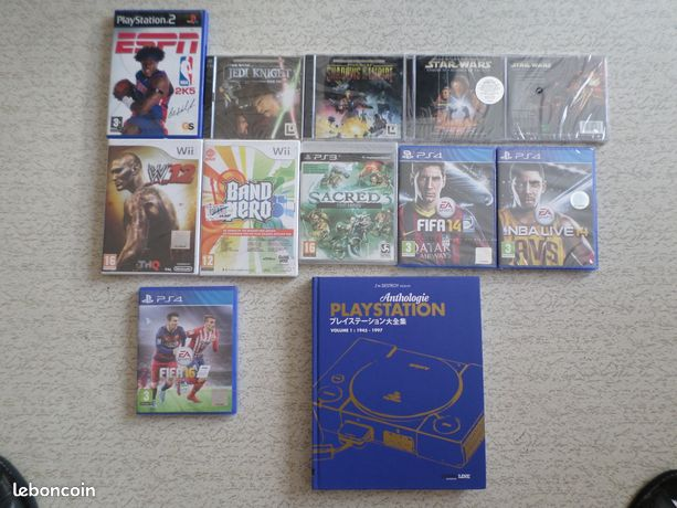 Jeu ps4 wii xbox one star wars et livre playstation  cartes starter lord of the rings