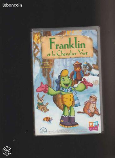 cassette vhs franklin et le chevalier vert dvd films bas rhin. Black Bedroom Furniture Sets. Home Design Ideas
