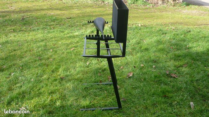 plan de fabrication barbecue vertical. Black Bedroom Furniture Sets. Home Design Ideas