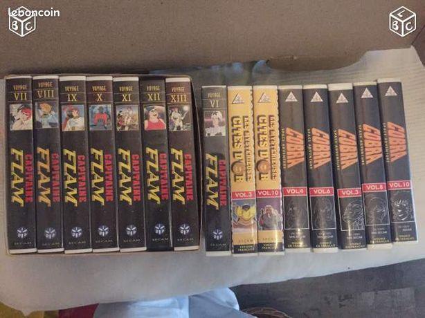 Cobra, cités d'or, capitaine Flam K7 video - Pérols - Integrale series : - Capitaine Flam (vendu) - Cobra - Les mysterieuses cités d'or 5Euro(s) chaque coffret de K7 vidéo Retrouvez mes autres annonces avec mon pseudo Coni34  - Pérols