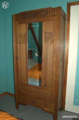 Chambre a coucher ancienne ameublement pas de calais - Chambre a coucher ancienne ...