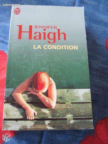 """JENNIFER HAIGH La condition - Vannes - A vendre livre de poche en parfait état de Jennifer Haigh """"la condition. 2 €  - Vannes"""