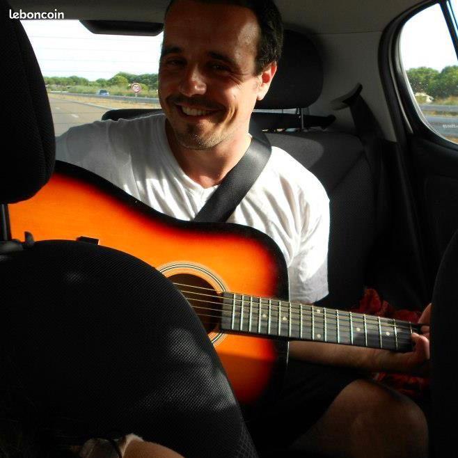 Cours de guitare acoustique à domicile ou à distance