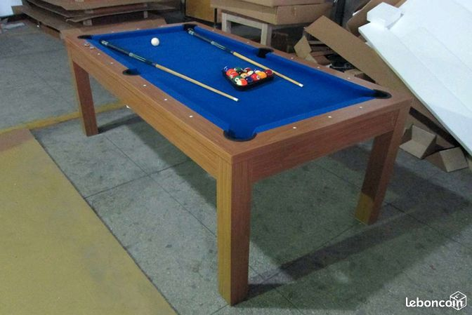 Billard convertible table manger neuf 63 sports for Table a manger convertible