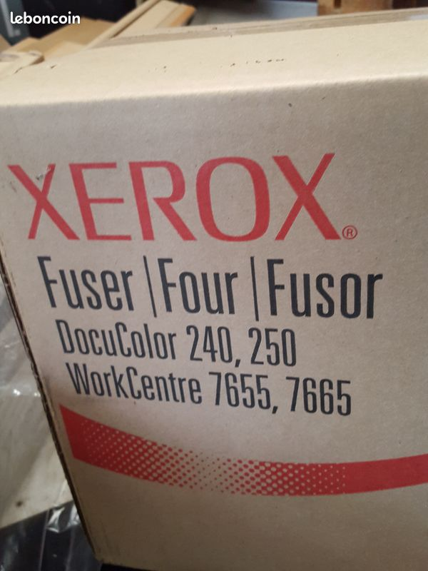 Fourniture et consommable photocopieur xerox