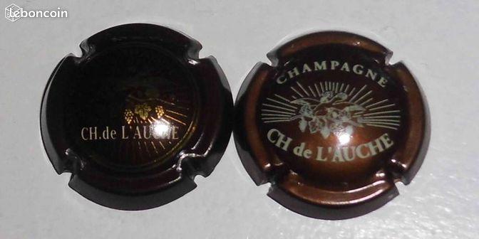 capsules de champagne charles de l 39 auche collection marne. Black Bedroom Furniture Sets. Home Design Ideas