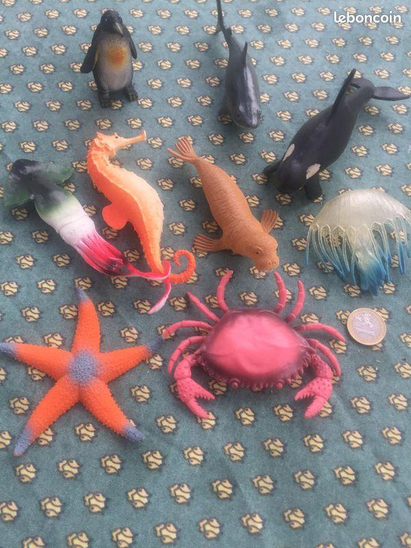 Lot figurines de la mer