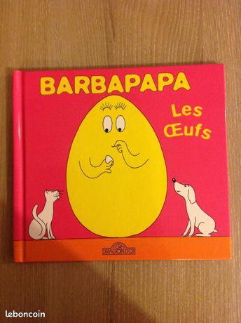 "Barbapapa "" les Œufs "" - Pont-l'Abbé - BARBAPAPA "" LES OEUFS "" LIVRE EN BON ETAT  - Pont-l'Abbé"